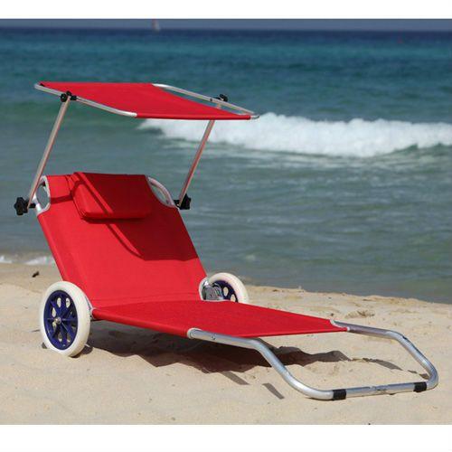 beach chair with sun canopy,folding beach chair with wheel $20~$30