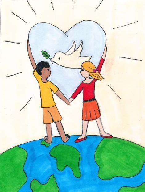 World Peace - http://www.deliverhope.ca/assets/Uploads/_resampled/croppedimage470622-Sally-stamp-contest-1.jpg