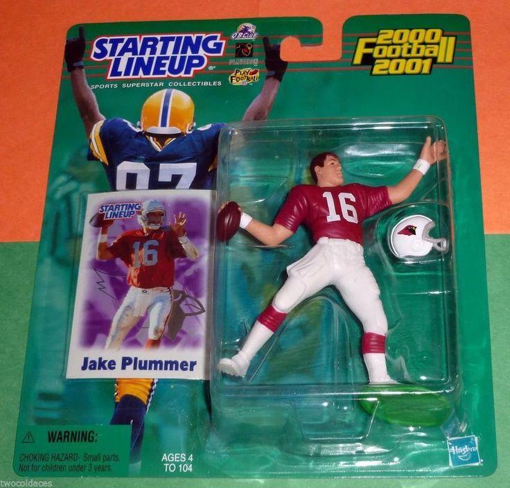 JAKE PLUMMER 16 Phoenix Arizona Cardinals Starting Lineup 2000-2001  #Hasbro