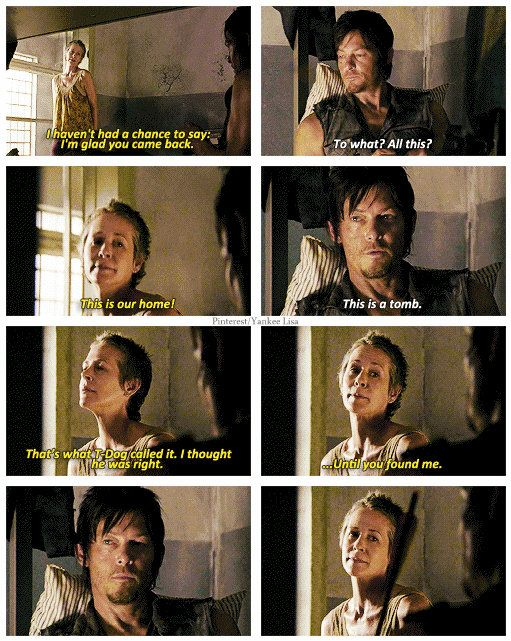 Is carol and daryl dating