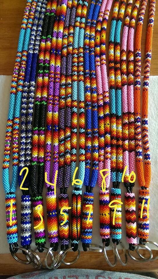 Beaded lanyards                                                                                                                                                                                 More