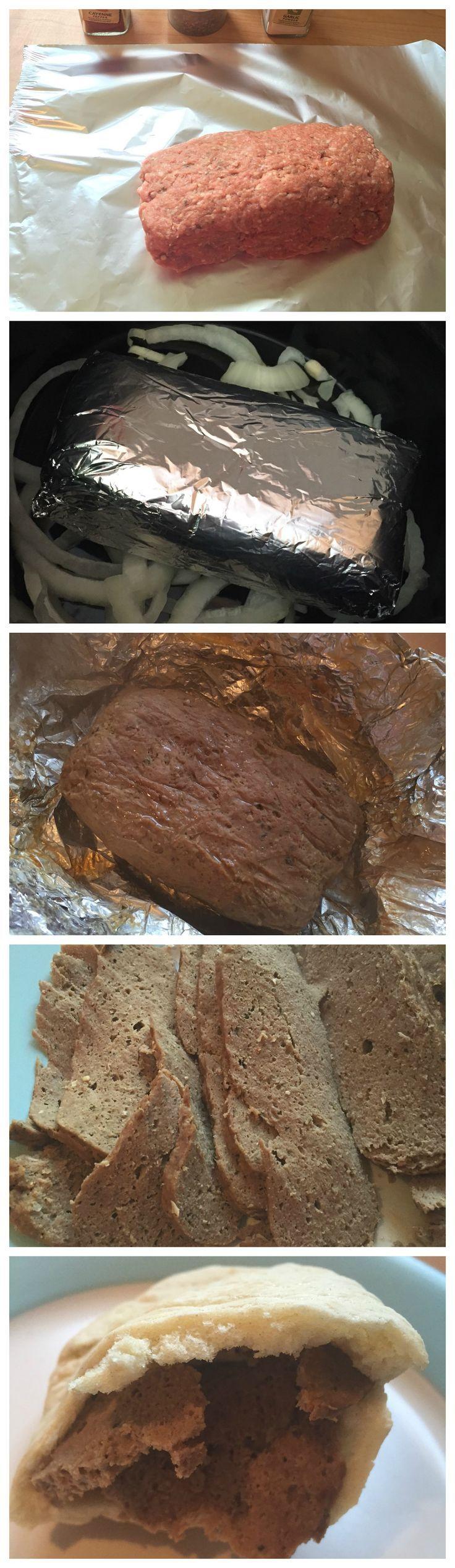 Homemade doner kebab #SlimmingWorld #Fakeaway #SlowCooker #Crockpot