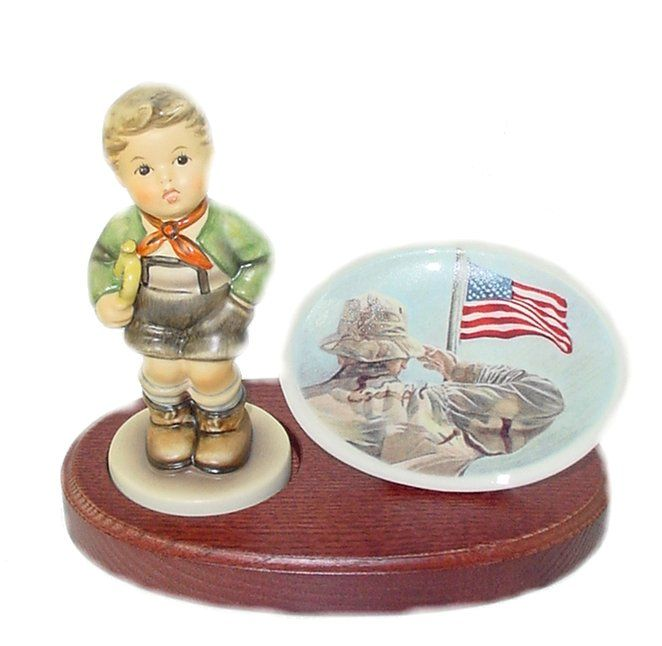 Trend MI Hummel Military Trumpet Boy Final Issue Hummel Figurine M Sold Out