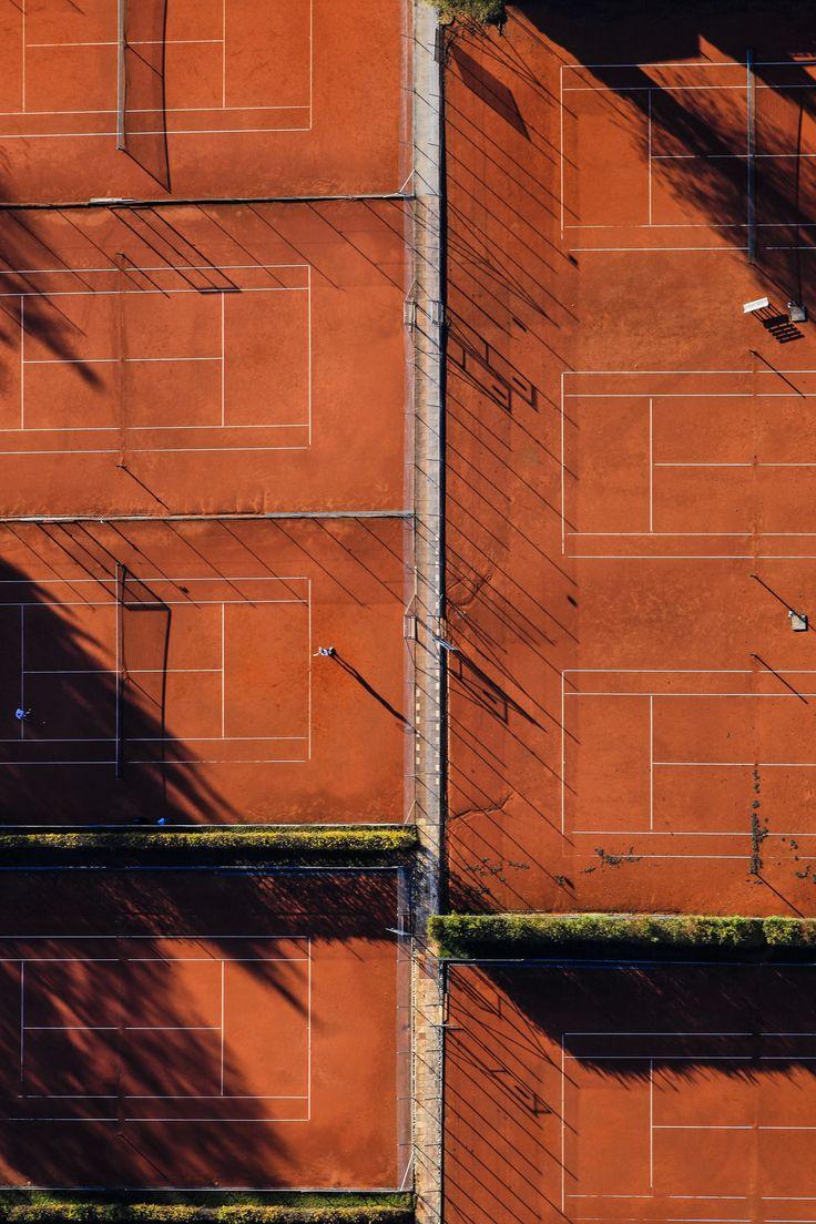 Roland Garros back courts