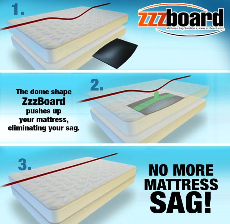 Items Similar To Mattress Saver By Zzzboard Is The Solution Your Sagging Sag Fix On Etsy