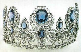 Josephine's Sapphire and Diamond Diadem