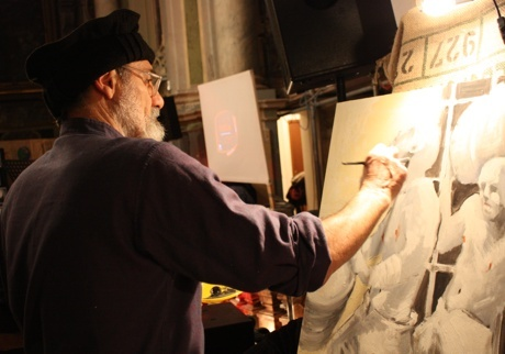 The artist #people #provinciadicuneo #piemonte #italy