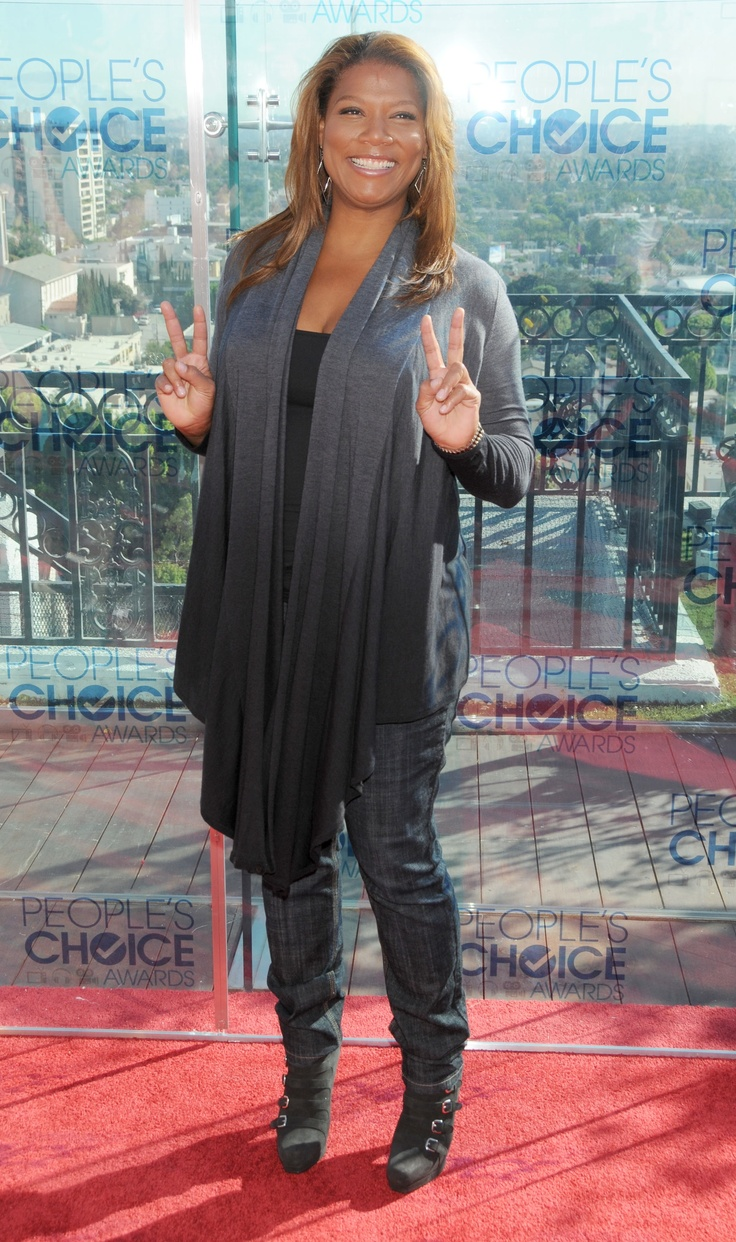 Queen Latifah - She simply rocks and is beautiful!