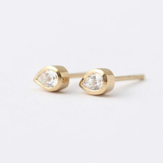 180 best Diamond Earrings images on Pinterest