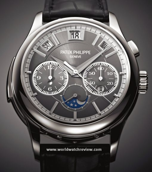 Elegance Defined - Patek Philippe Triple Complication Ref. 5208P. Automatic. Perpetual calendar, minute repeater and monopusher chronograph. A warrantied winner in future auctions.