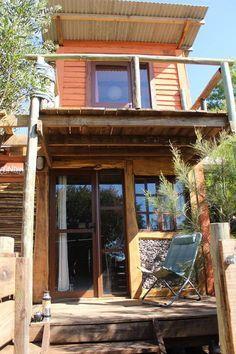 Échale un vistazo a este increíble alojamiento de Airbnb: La Escondida - Cabañas en alquiler en Punta del Diablo