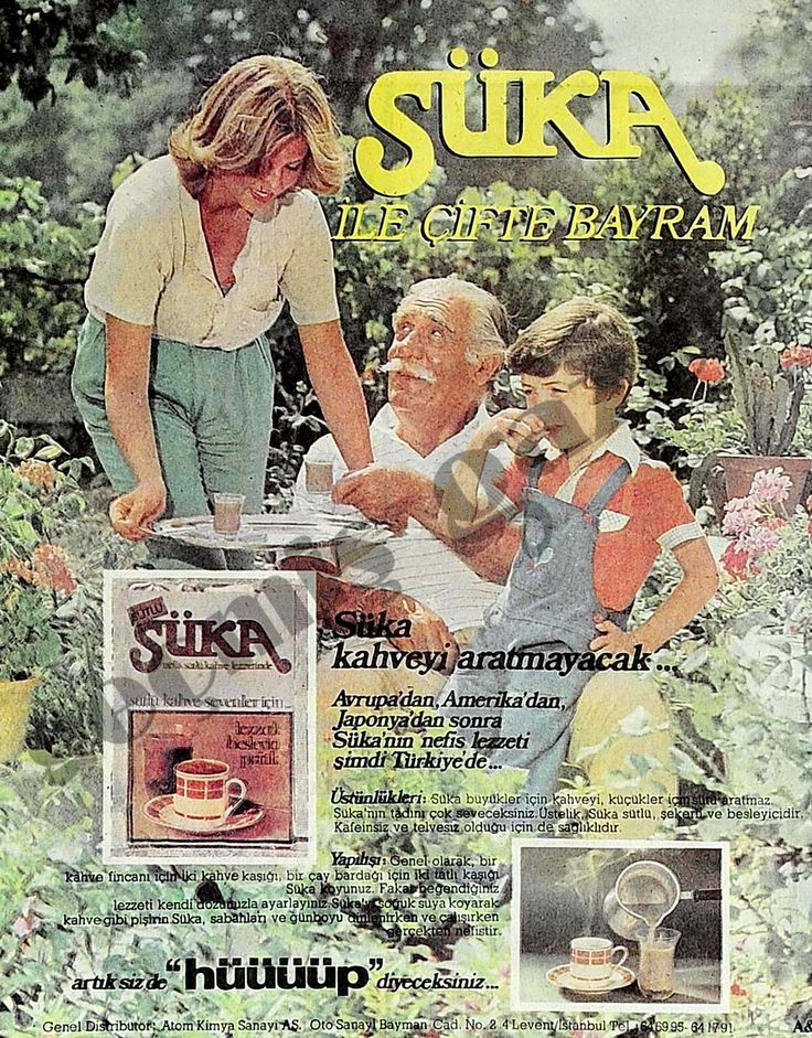"""1980 Süka kahveyi aratmayacak...Artık siz de """"hüüüüp"""" diyeceksiniz..."""