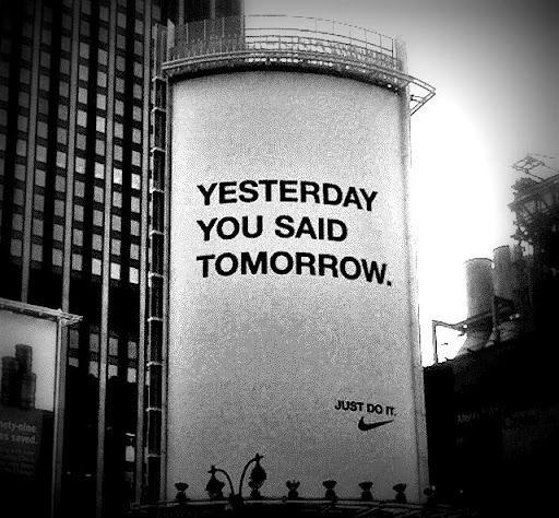 Nike 'Yesterday You Said Tomorrow' by W&K