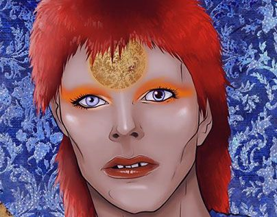 """Check out new work on my @Behance portfolio: """"SAINT IGGY A David Bowie Tribute"""" http://be.net/gallery/44053671/SAINT-IGGYA-David-Bowie-Tribute"""