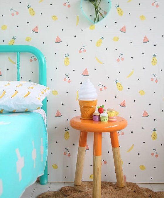 129 best images about papeles pintados infantiles on - Habitaciones con papel pintado ...