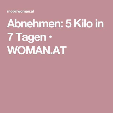 Abnehmen: 5 Kilo in 7 Tagen • WOMAN.AT