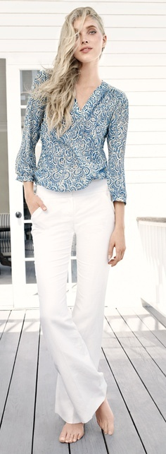 Beachy Blues... #TheLimited