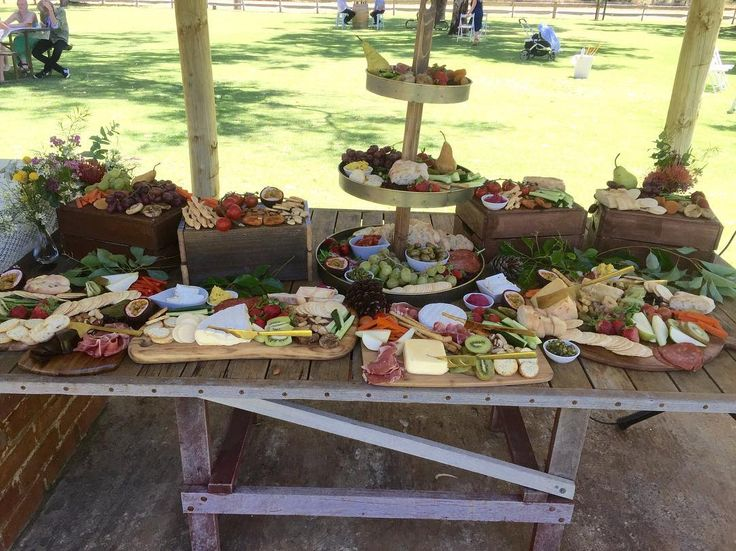 Grazing table by LVHC