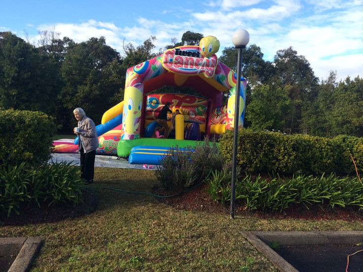 Everyone loves the Jumping Castle
