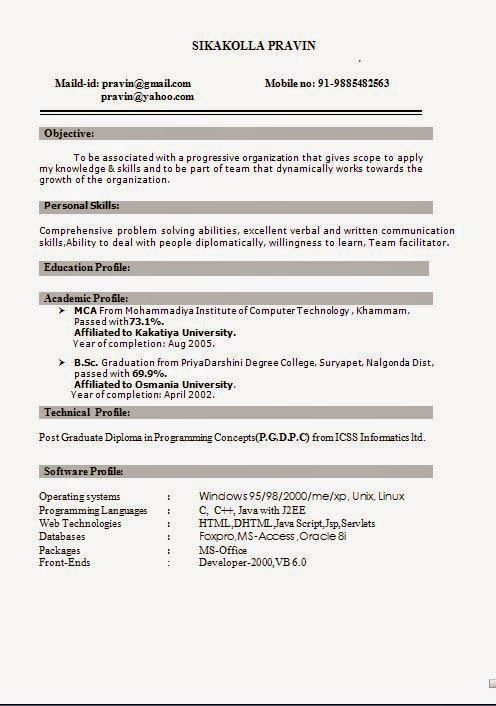 how to write a curriculum vitae for university Sample Template - post graduate resume