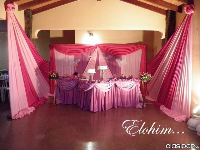 Genial y elegante decoracion para tus 15 fiesta mel for Fiestas elegantes decoracion