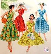 Image result for 1955 fashion