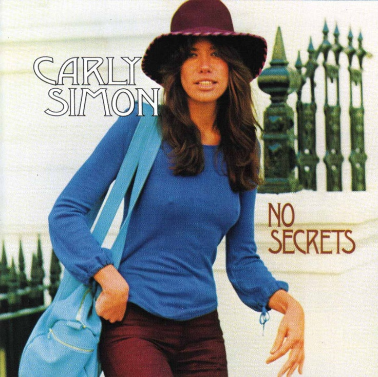 Carly Simon- I've played this one over and over and over...all time favorite!