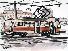 Caska T3 FB - obraz na plátně