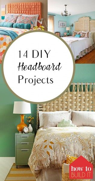 14 DIY Headboard Projects – How To Build It