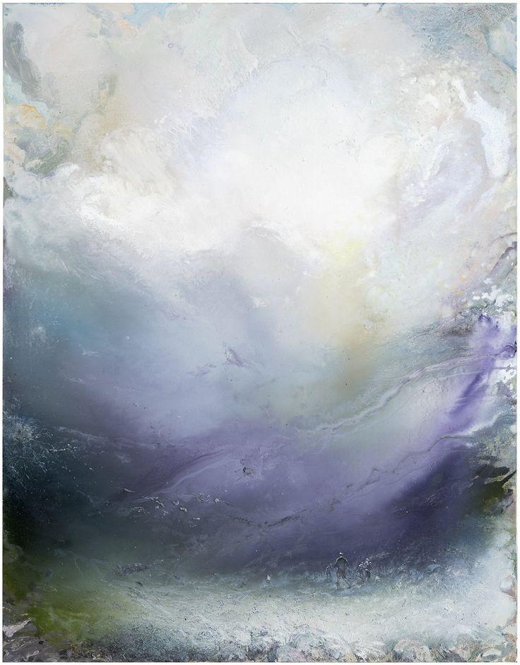 Tuomo Saali, Sarastus, oil on canvas, 140x110cm,2017