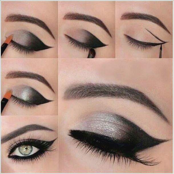 40-amazing-smokey-eyes-makeup-tutorials #diy #makeup #beauty