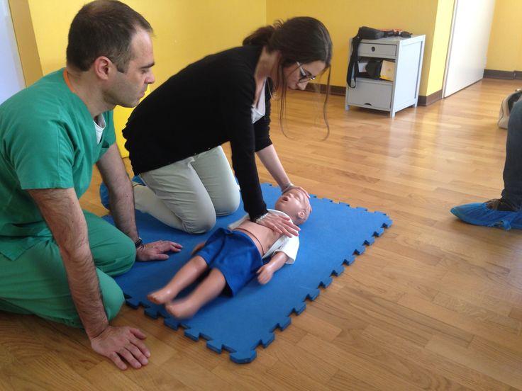 Corso di Primo Soccorso Pediatrico - Massaggio cardiaco