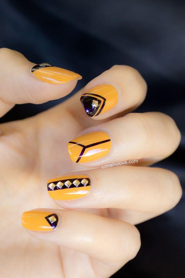 Best 25 Art Deco Nails Ideas On Pinterest Nail Art