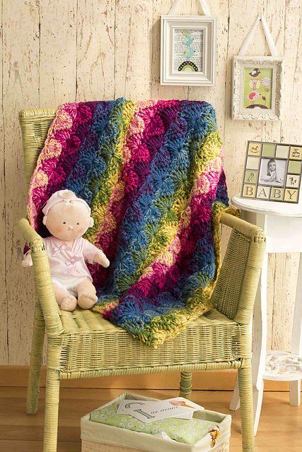 Ravelry: Double Shell Crochet Baby Blanket pattern by Vanna White