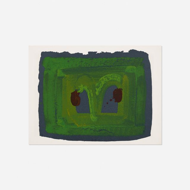 Howard Hodgkin | Lotus (1980) | Available for Sale | Artsy
