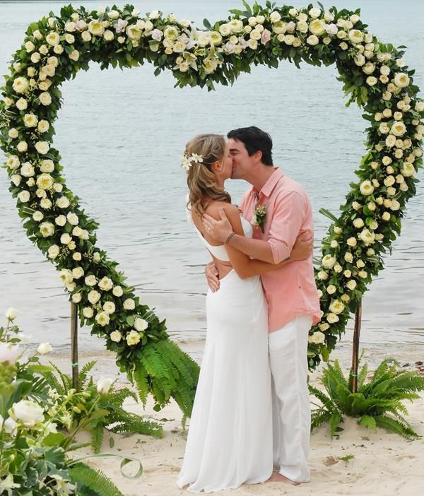 Romantic Wedding in Koh Phangan