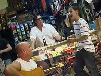 Little Boy Shocks a Guitar Store Owner with his Incredible Voice - Wow, Unbelievable!