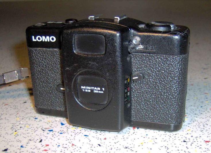 Компактный фотоаппарат «ЛОМО Компакт-Автомат», СССР, 1988