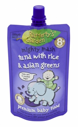 Raffertyu0027s Garden Tuna With Rice U0026 Asian Greens   Our Mighty Mashed Range  Is Made For