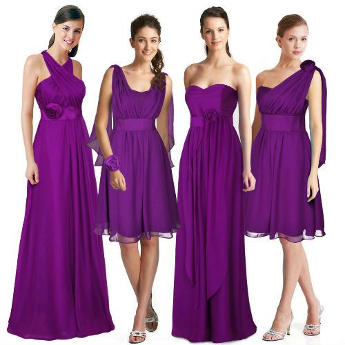 Robe Multiposition Violet