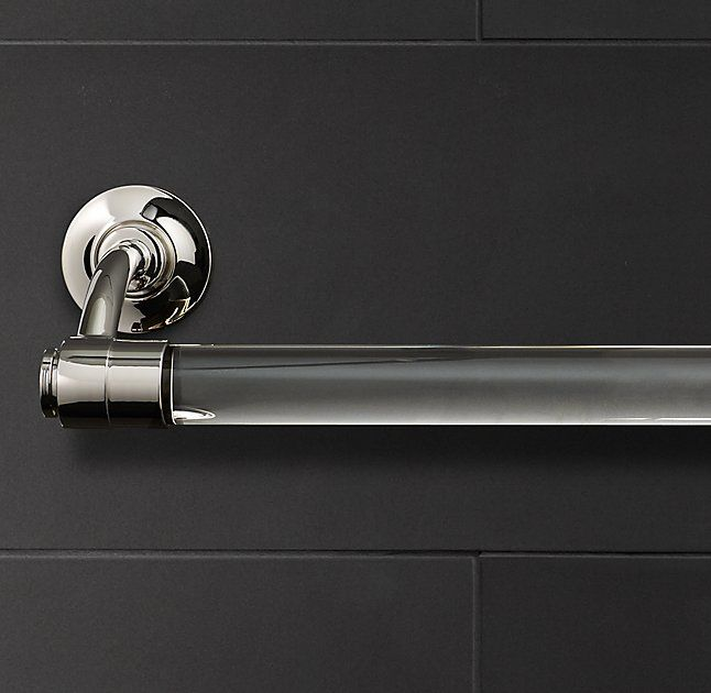 Restoration Hardware Grafton Towel Bar For Master Bath It Also Comes In Diffe Lengths A Double Toilet Holder Etc