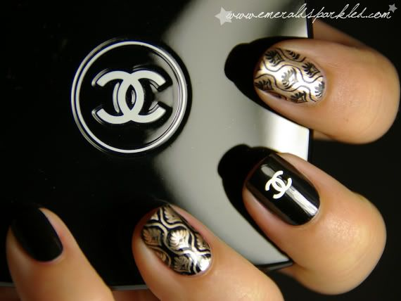 50 best hit the nail on the head images on pinterest nail chanel inspired nail art prinsesfo Choice Image