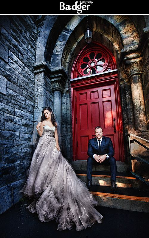 Bride & Groom photo session in the West Island - wedding photography by Badger Photography http://badgerphotography.ca