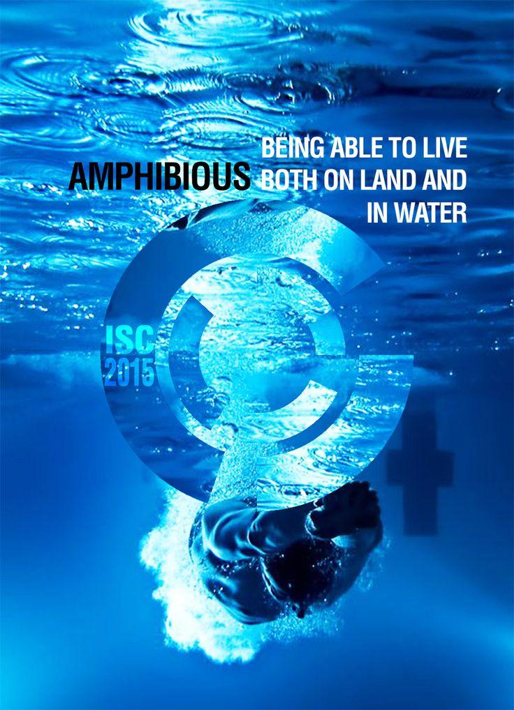 swimming poster, fictive, By Kia Lange