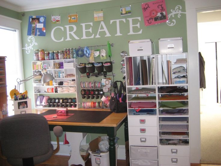 122 Best Craft Room Ideas Images On Pinterest | Craft Space, Home And DIY