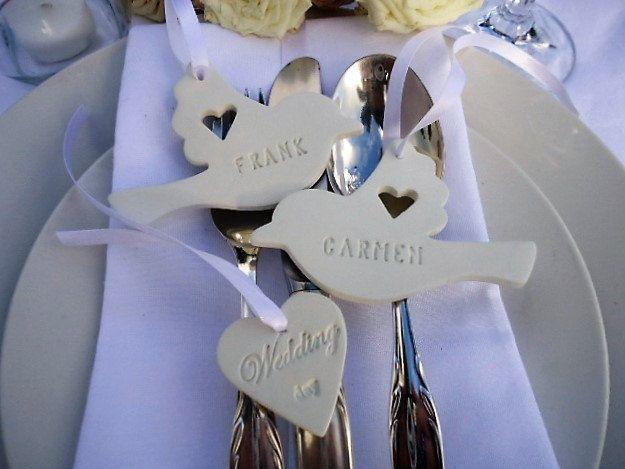 Wedding Couple Dove - Set of 25 by MYMIMISTAR on Etsy
