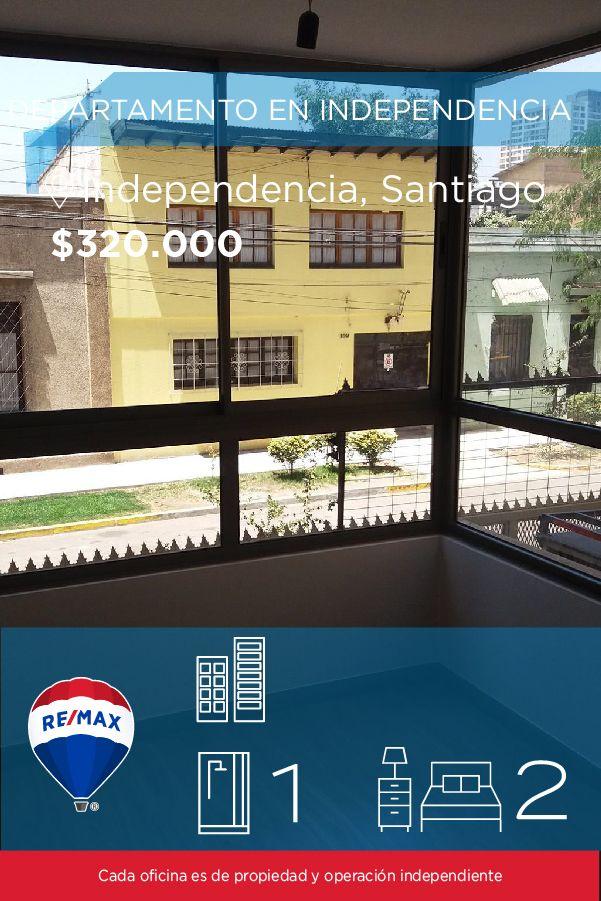 [#Departamento en #Arriendo] - DEPARTAMENTO EN INDEPENDENCIA 🛏: 2 🚿: 1  👉🏼 http://www.remax.cl/1028036024-4 #propiedades #inmuebles #bienesraices #inmobiliaria #agenteinmobiliario #exclusividad #asesores #construcción #vivienda #realestate #invertir #REMAX #Broker #inversionistas #arquitectos #venta #arriendo #casa #departamento #oficina #chile