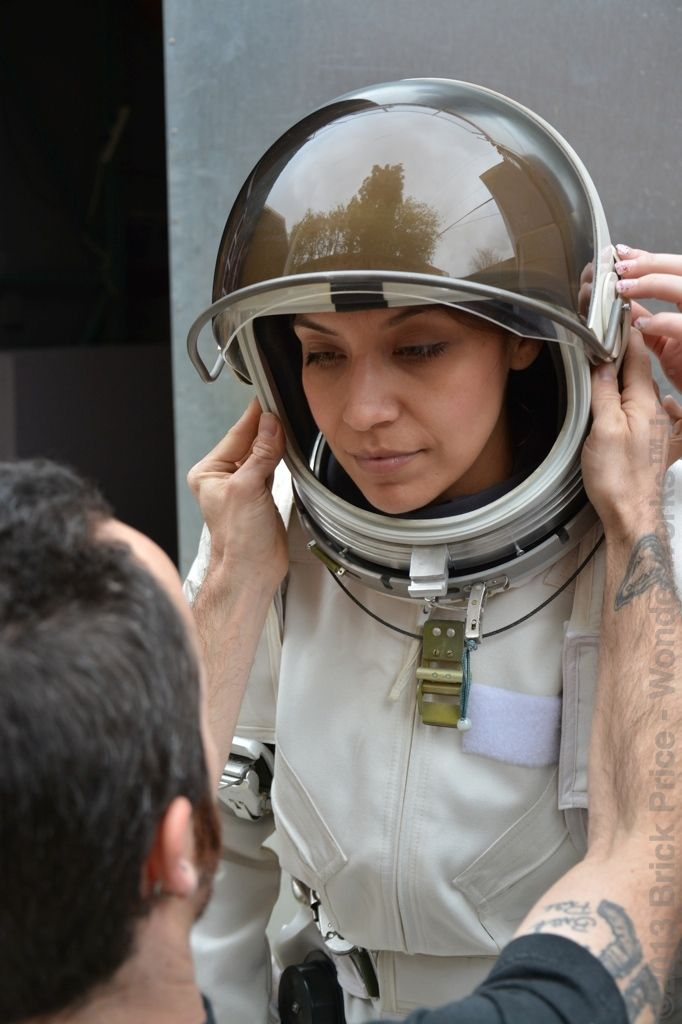 putting on a space suit - photo #37