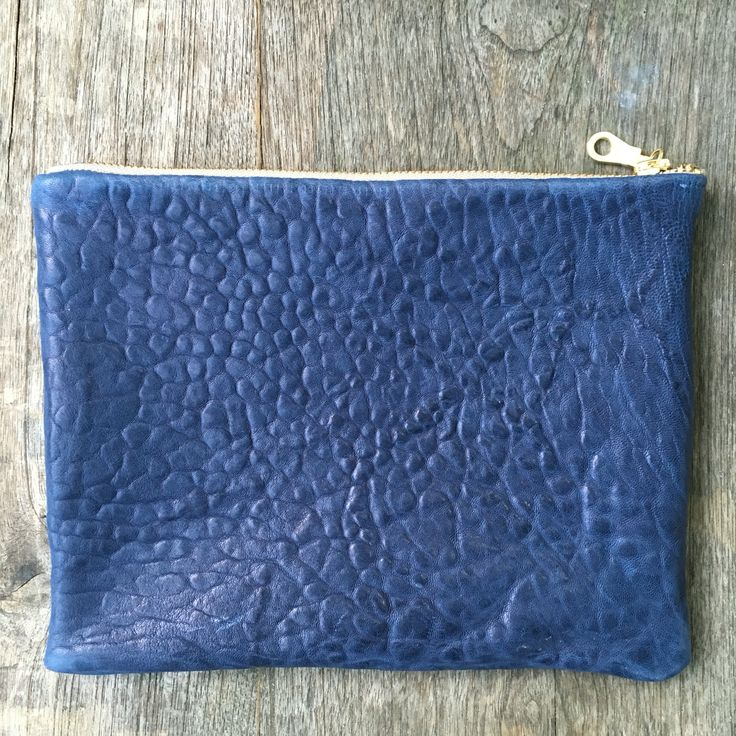 Bubble Navy Pouch