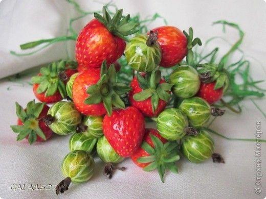 Мастер-класс Лепка: Выращиваем соленые ягодки. МК Тесто соленое. Фото 1